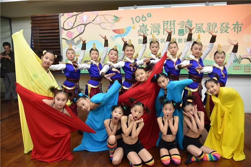 新埔國小小舞者們帶來精彩表演