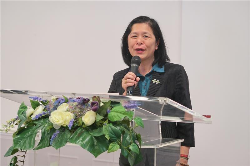 教育部學生事務及特殊教育司曹翠英副司長致詞