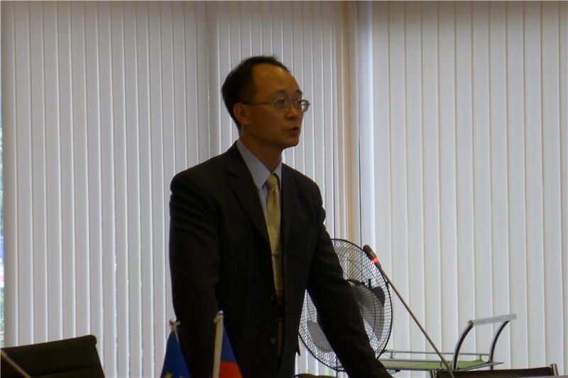圖 6-廖揆祥副教授(東吳大學德國文化學系)