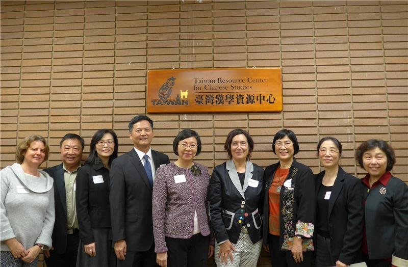 國圖海外第25個「臺灣漢學資源中心」於加州大學洛杉磯分校啟用並舉辦開幕儀式