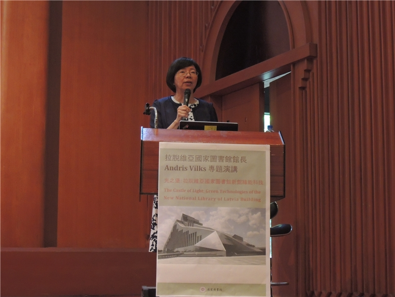 Welcome speeches by Director General Tseng.
