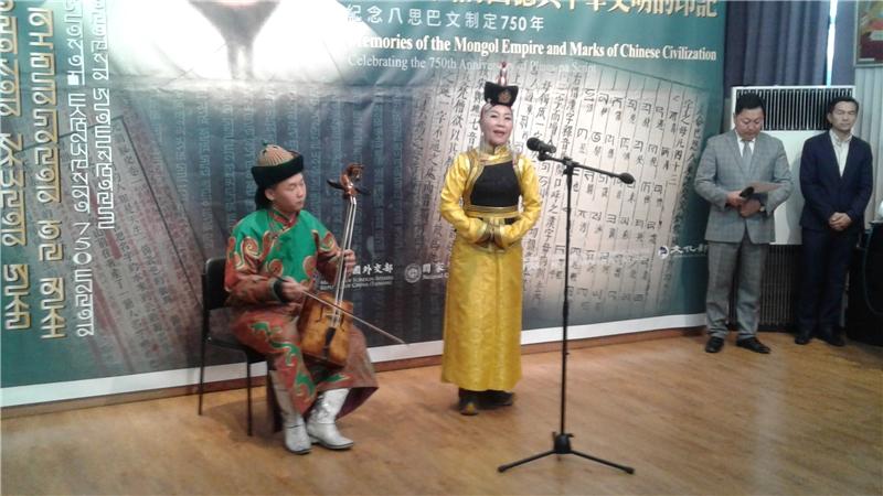 蒙古長歌開幕演出