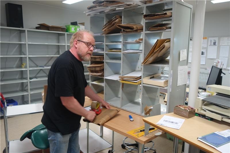 典藏館提供期刊紙本資料寄送给申請館