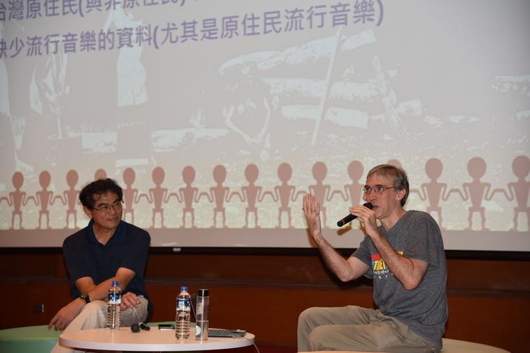 左起:劉智濬教授、徐睿楷先生