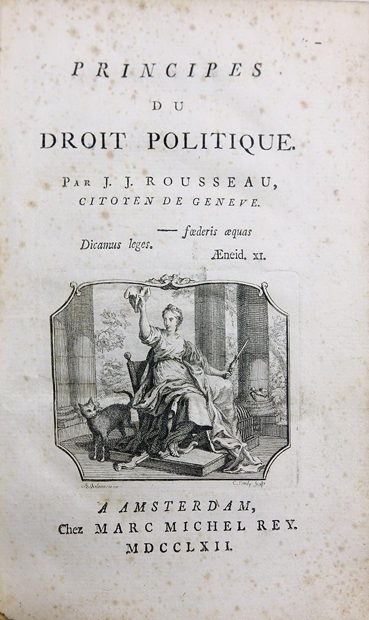 盧梭《民約論》