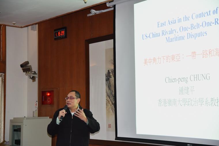 鍾健平教授