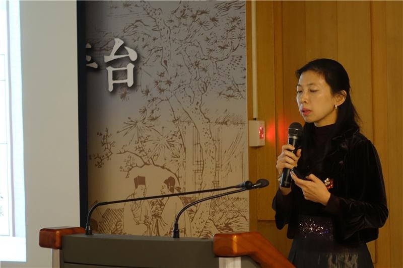 林巧敏教授分享古籍全文化經驗