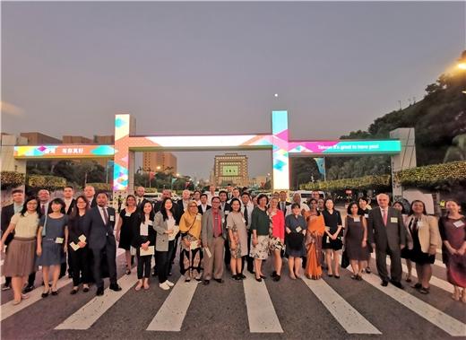 邀請本館外籍學人參與雙十國慶活動