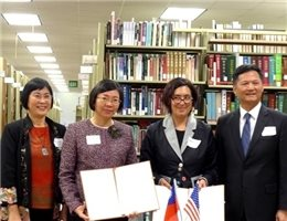 NCL and UCLA Partner to Establish a Taiwan Resource Center for Chinese Studies