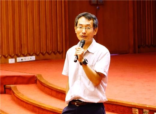秋季講座第三場王鴻泰教授主講「明代士人的尚俠習武風氣」