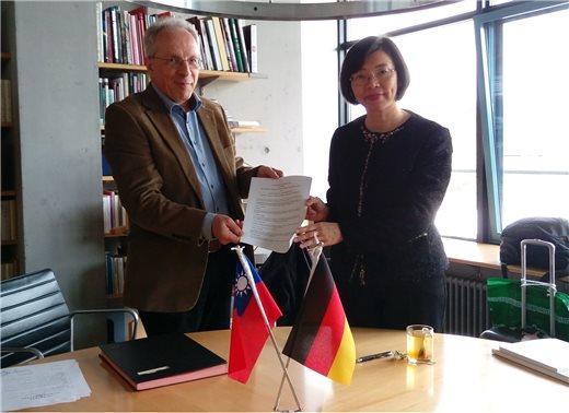 台德文化交流添新頁-國圖與德國國家圖書館簽署合作協議