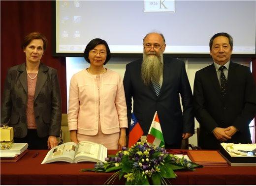 國圖與匈牙利科學院圖書館合作設立匈牙利首個「臺灣漢學資源中心」