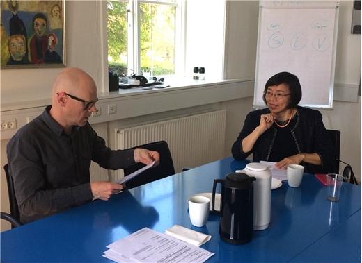 國圖前往丹麥多所圖書館交流與參訪