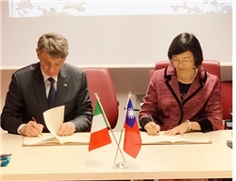 A New Page in Collaboration between Taiwan and Italy: NCL Sets up a Taiwan Resource Center for Chinese Studies at Sapienza University of Rome