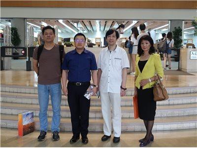 2017.09.29 杭州圖書館館長來訪