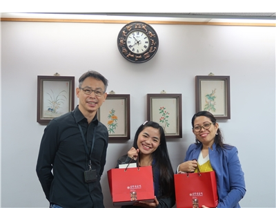 2019.11.27 菲律賓Science and Technology Information Institute一行2人來館進行標竿學習與參訪