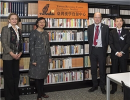 NCL Works with the University of Edinburgh to Establish Scotland's First Taiwan Resource Center for Chinese Studies