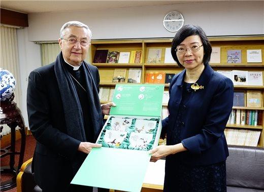 梵蒂岡圖書館及教廷檔案館總館長來訪