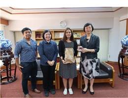 Representatives from the Thailand National Science and Technology Development Bureau's Technology Knowledge Services Center Visit NCL