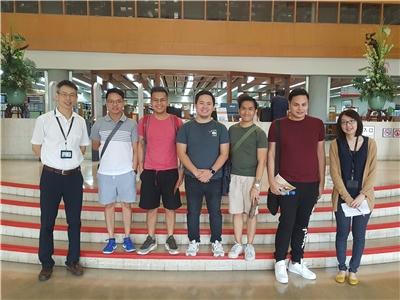 2019.07.25 菲律賓參議院立法資源部館員一行5人來館參訪