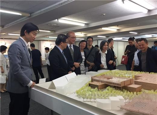 國圖南部分館及國家聯合典藏中心新建工程跨過重要里程碑,9月14日進行競圖頒獎及簽約典禮