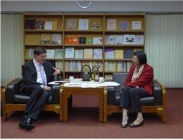 Israel Representative Asher Yarden Visits NCL