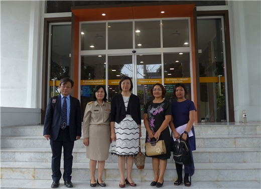曾淑賢館長參訪泰國國家圖書館