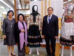 """NCL Holds Special Exhibition on """"100 Years Old Slovak Folk Art"""""""