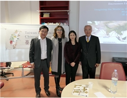 """Taiwan Lectures on Chinese Studies"" invites Chiung-yun Liu, associate research fellow, to deliver a lecture at Sapienza University of Rome"