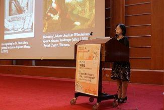 西洋文學講座登場 吳雅鳳教授主講西洋文學與雕刻之美