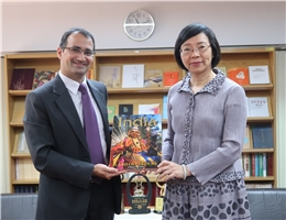 India-Taipei Association Deputy Director General Sandeep Jakhar visited NCL