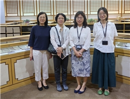 Professor Han Mi-Kyung from the Korean Ancient Text Management and Development Project Visits NCL