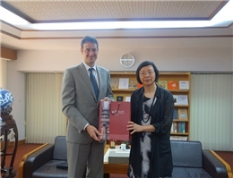 Representative Gary Cowan of the Australian Office in Taipei Calls on Director-General Tseng