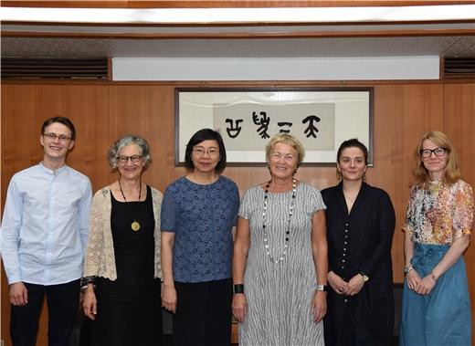 北歐亞洲研究中心女性與性別研究專家拜訪本館