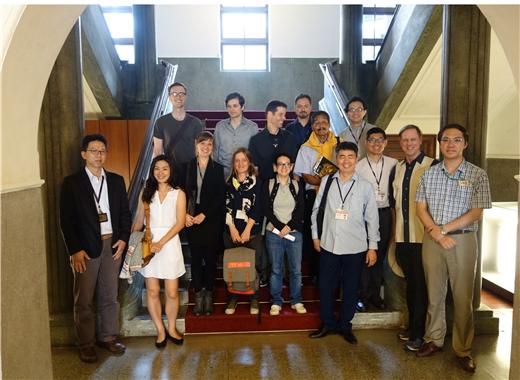 107年度國家圖書館資源利用課程及外交部臺灣獎助金學人學術資源利用參訪國史館