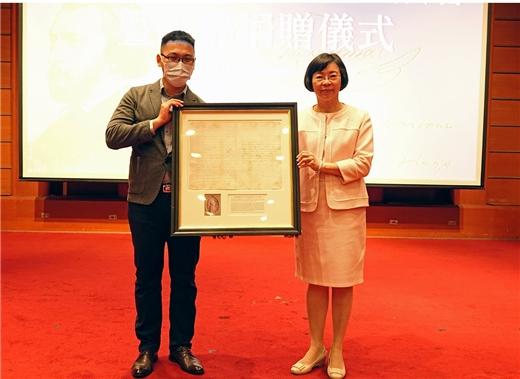 澄定堂珍貴西洋古籍與手稿入藏國家圖書館