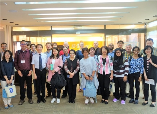 外籍學人館外學術資源參訪與利用課程