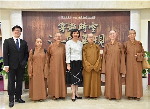 佛典雲集,百年難得一見;國寶首度出館,現身佛教名山─「穿越時空 法寶再現─佛經寫本與刻本特展」記者會