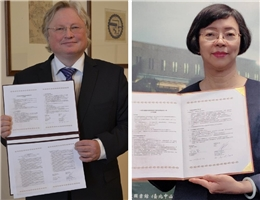 Firm Cooperation Relationship Established in Uncertain Pandemic Time -- The National Central Library and Vilnius University of Lithuania Have Signed Cooperation Agreement to Establish