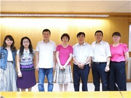 2016-06-14 Deputy Director General, Xinmin Zhang from the Institute of Scientific and Technical Information of China together with four other persons visits the NCL