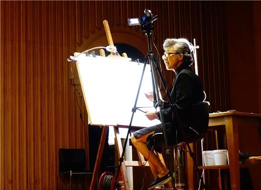 梁丹丰專題演講:「我的繪畫心路歷程」
