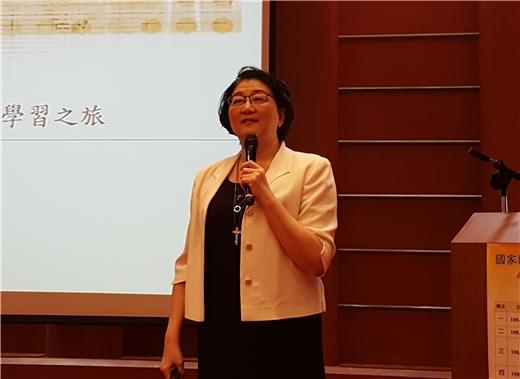 雷倩博士主講「看文化學英文:我在ABC電視網的學習之旅」