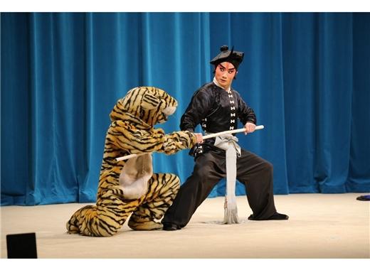 真劇場在國圖:「經典折子戲.青春篇1-武松打虎」於多功能展演廳演出