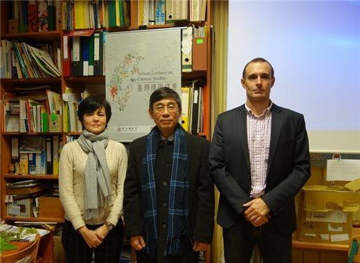 「臺灣漢學講座」邀請李明輝教授於捷克查理士大學演講