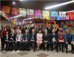 "Special Exhibition ""Celebrating Life: The Day of the Dead in Mexico"" is Held at the NCL"